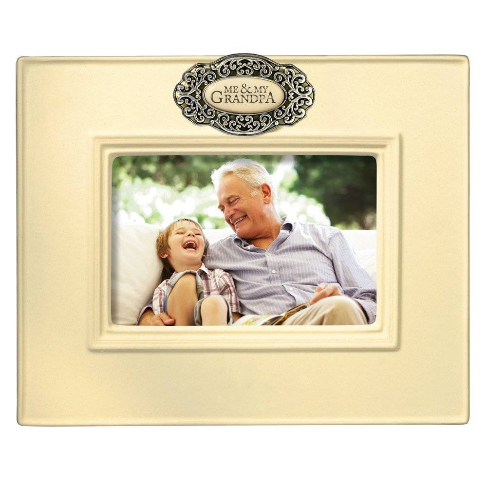 Photo Frame-Me & My Grandpa-1pkg-7.5\