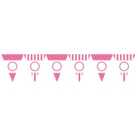 Banner-Pink Personalized-24pk/10.5'' x 8.5''