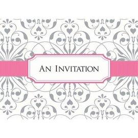 Invitations- Bridal Shower-w/Seal Scroll-8pk