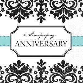 Napkins -LN-Anniversary-Always & Forever-8pk-2ply