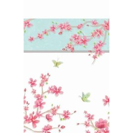 Plates-DN-Cherry Blossom Love-8pk-Paper - Discontinued
