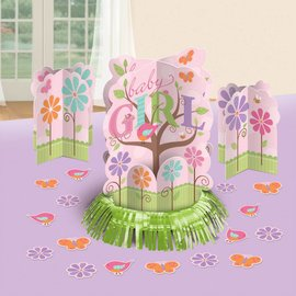 Table Decor Kit-Tweet Baby Girl