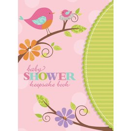 Keepsakes Book-Tweet Baby Girl-8.25'' x 6''