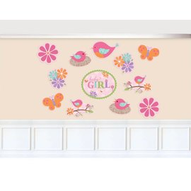 Cutouts-Tweet Baby Girl-Paper-12pk
