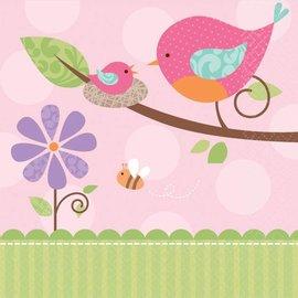 Napkins-BEV-Tweet Baby Girl-16pk-2ply - Discontinued