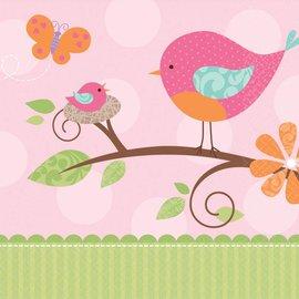 Napkins-LN-Tweet Baby Girl-16pk-2ply - Discontinued