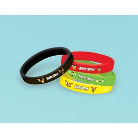 Favor-Bracelets-Angry Birds-4pk (Discontinued)