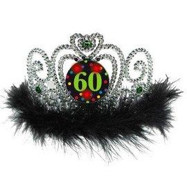 Tiara-60th Birthday-Lights up-Plastic