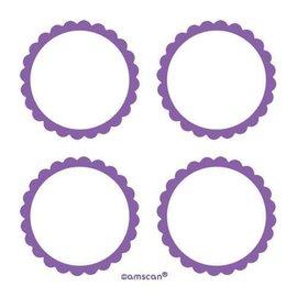 Labels -Purple-20pk/2''