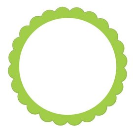 Labels -Green-20pk/2''