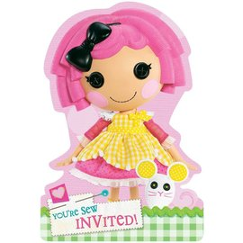 Invitations-Lala Loopsy-8pk (Discontinued)