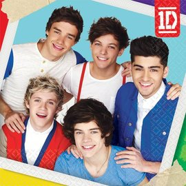 Napkins-Bev-One Direction-16pk-2ply
