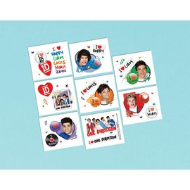 Tattoo-One Direction-16pk