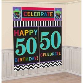 Wall Decor Kit-50th-6ft