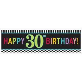 Banner-30th-Plasitc-65'' x 20''
