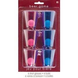 Beer Pong - Shot Glass - 6pk