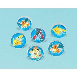 Bouncy Ball-Pokemon-6pk