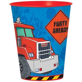 Cup-Tonka-Plastic-16oz - Discontinued