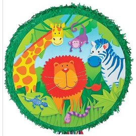 Pinata-Jungle Animals-1pkg-17''