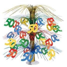 """Centerpiece-Multi-Color Cascade-50th Celebration-1pkg-18"""""""