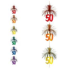 Firework Stringer-Cascade-50th Celebration-1pkg-7ft