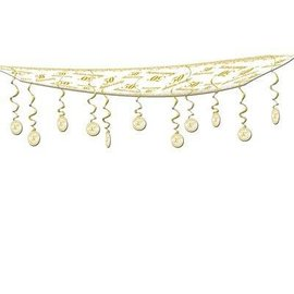 Ceiling Decor-Gold 50th Anniversary-1pkg-12ft