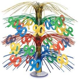 """Centerpiece-Multi-Color Cascade-90th Celebration-1pkg-18"""""""