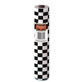 Table Roll-Plastic-Checkered-1pkg-100ft
