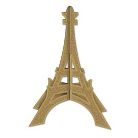 """Centerpiece-3D-Eiffel Tower-1pkg-12"""""""