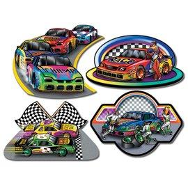 "Cutouts-Racecars-4pkg-16"""