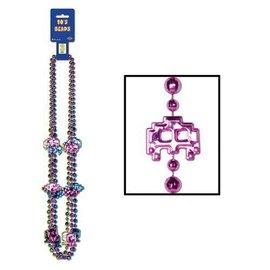 Beads-  80's Beads-3pk/36''