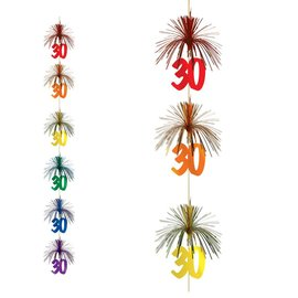 Firework Stringer-Cascade-30th Celebration-1pkg-7ft