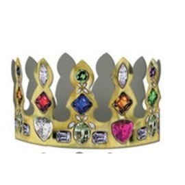 Jeweled Crown-Cardstock-1pkg-4""
