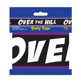 Party Tape-Plastic-Over the Hill-1pkg-20ft