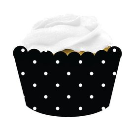 Cupcake Wrappers-Cupcake Blowout Dots-12pkg