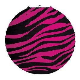 "Lantern-Paper-Pink Zebra Boutique-1pkg-12"""