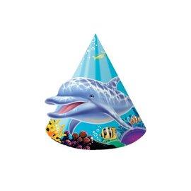 Hats-Cone-Ocean Party-8pkg-Paper