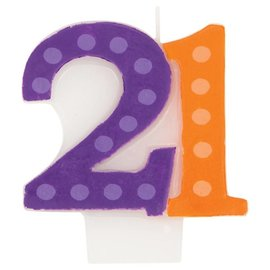 Candle-21st-1pk-3''