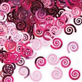 Confetti- Pink Swirls-0.5oz