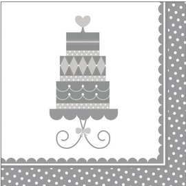 Luncheon Napkins-Forever Sweet-16pkg-2ply (Discontinued)