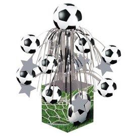 "Centerpiece-Foil Cascade-Soccer Fanatic-1pkg-12.5"""