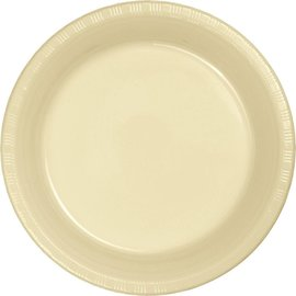 Plates-BEV-Ivory-20pkg-Plastic