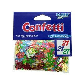 Confetti-21st Birthday Mix-14g
