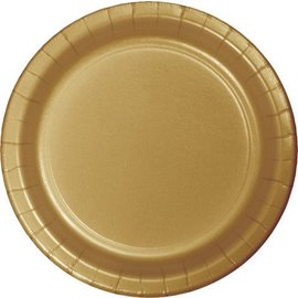 Plates-BEV-Glittering Gold-20pkg-Paper