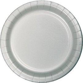 Plates-LN-Shimmering Silver-20pkg-Paper