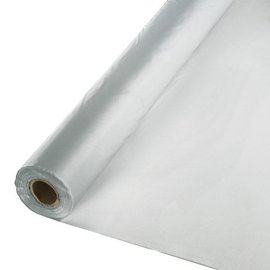 Table Roll-Shimmering Silver-100ft-Plastic