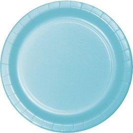 Plates-BEV-Pastel Blue-20pkg-Paper