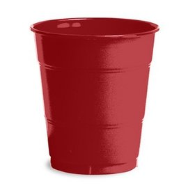 Plastic Cups-Burgundy Royale-20pkg-12oz
