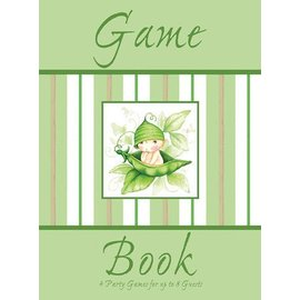 Game Book-Sweet Pea Baby Shower-4pkg