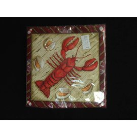 Napkins-BEV-Catch of the Day-Lobster-16pk-3ply